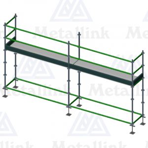 5m Ringlock Scaffold / Scaffolding Package, Single Level